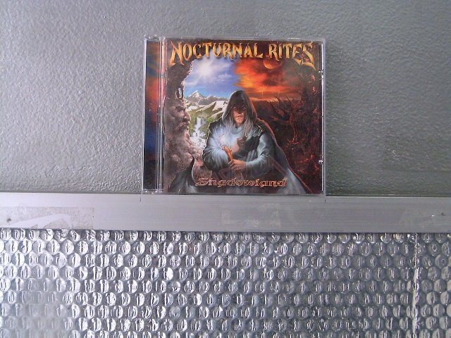 NOCTURNAL RITES shadowland CD 2002 MELODIC POWER METAL