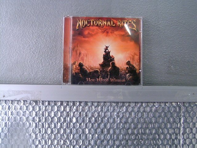 NOCTURNAL RITES new world messiah CD 2003 POWER METAL
