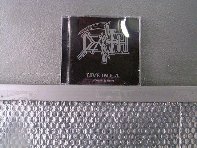 DEATH live in l.a. CD 2003 DEATH METAL