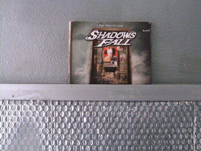 SHADOWS FALL the war within DIGIPACK CD 2004 METAL CORE