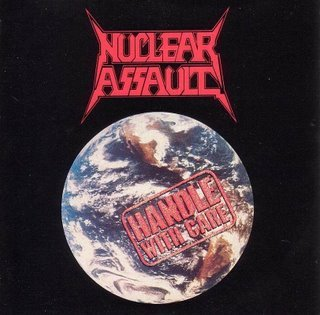 NUCLEAR ASSAULT handle with care CD 1989 THRASH METAL