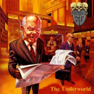 EVILDEAD the underworld CD 1991 THRASH METAL**