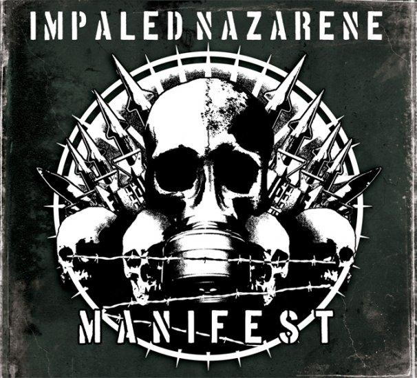 IMPALED NAZARENE manifest CD 2007 BLACK METAL