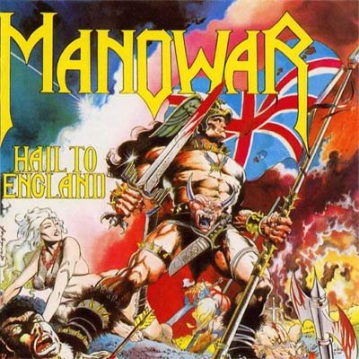 MANOWAR hail to england CD 1984 HEAVY METAL