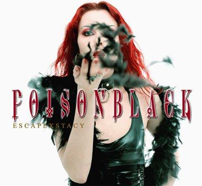 POISON BLACK escapexstacy CD 2003 GOTHIC METAL