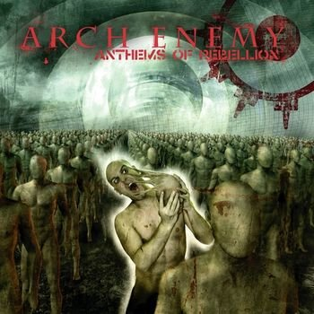 ARCH ENEMY anthems of rebellion CD 2003 MELODIC DEATH THRASH METAL