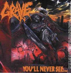 GRAVE you never see... CD 1992 DEATH METAL