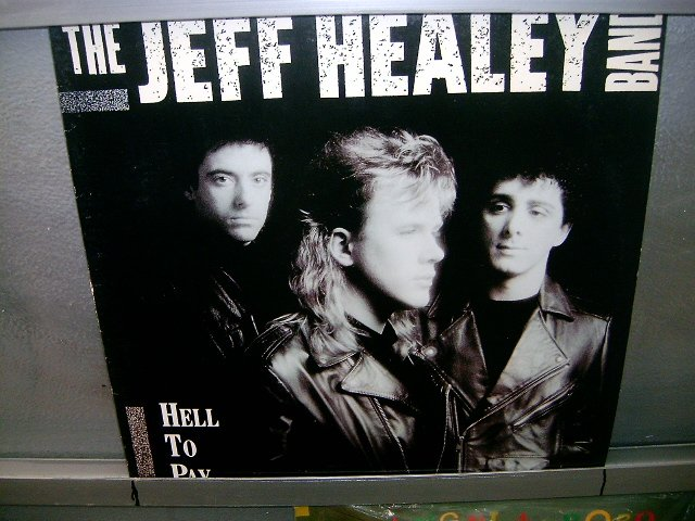 THE JEFF HEALEY BAND hell to pay LP 1990 ROCK EXCELENTE MUITO RARO VINIL