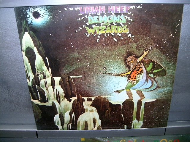 URIAH HEEP demons and wizards LP 1973 ROCK MUITO RARO VINIL