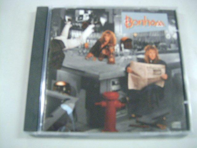 BONHAM the disregard of timekeeping CD 1989 HARD ROCK