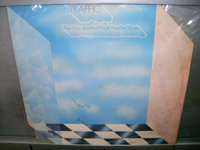TRAFFIC the low spark of high-heeled boys LP 1971 ROCK MUITO RARO VINIL