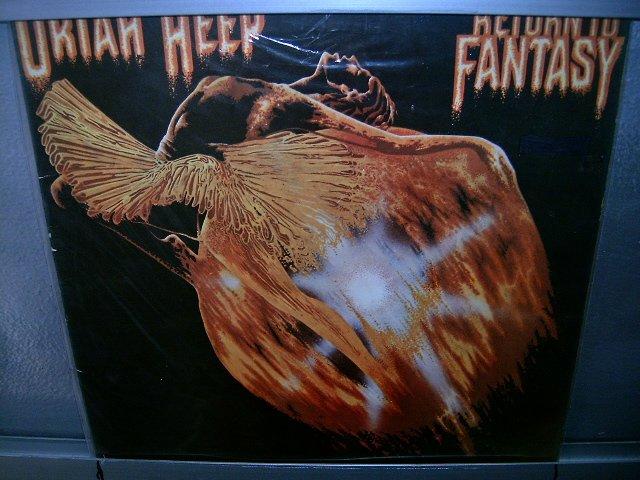 URIAH HEEP return to fantasy LP 1975 ROCK EXCELENTE MUITO RARO VINIL