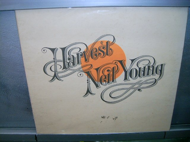 NEIL YOUNG harvest LP 1972 ROCK**