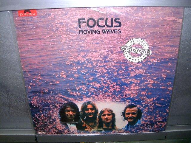 FOCUS moving waves LP 1974 ROCK EXCELENTE MUITO RARO VINIL