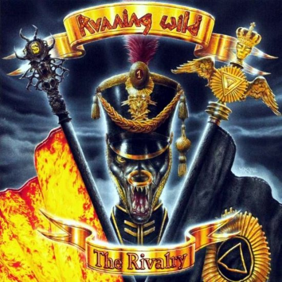 RUNNING WILD the rivalry CD 1998 HEAVY METAL