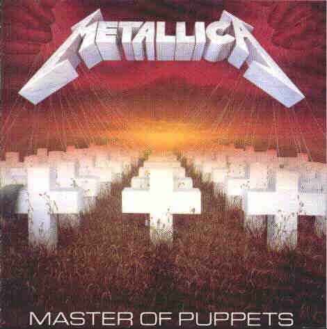 METALLICA master of puppets CD 1986 THRASH METAL