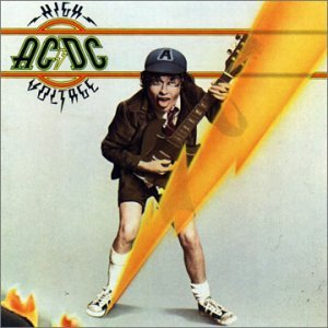 AC/DC high voltage CD 1976 ROCK
