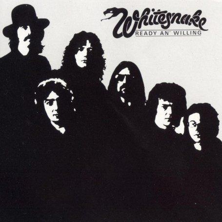 WHITESNAKE ready an' willing CD ?  HARD ROCK
