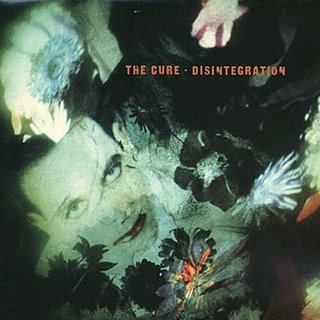 THE CURE disintegration CD 1989 GOTHIC ROCK