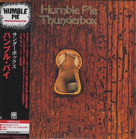 HUMBLE PIE thunderbox CD FORMATO MINI VINIL 1974 ROCK