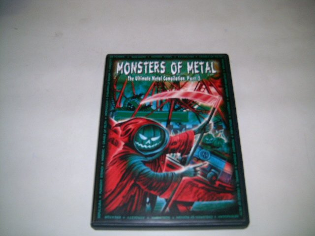 MONSTERS OF METAL the metal compilation vol.2 DVD 2004 HEAVY METAL