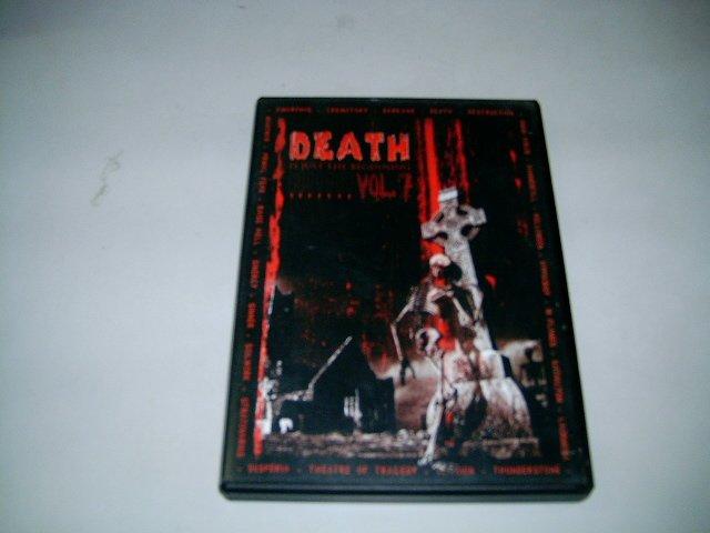 DEATH IS JUST THE BEGINNING vol.7 DVD + CD 200? HEAVY METAL