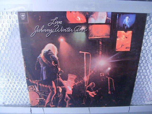 JOHNNY WINTER live LP 19? BLUES ROCK
