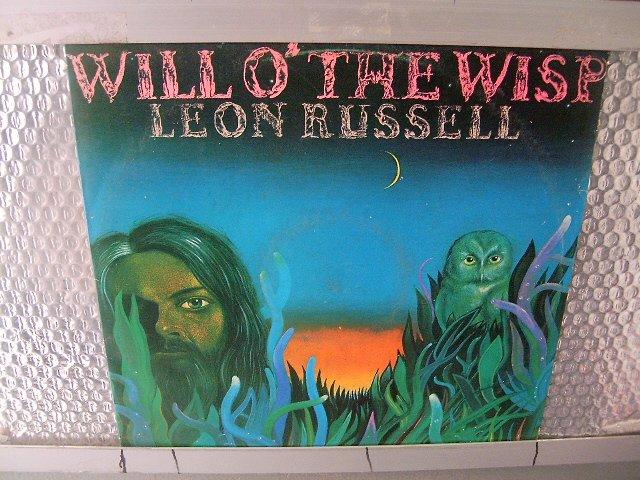 LEON RUSSEL will o' the wisp LP 1975 ROCK**