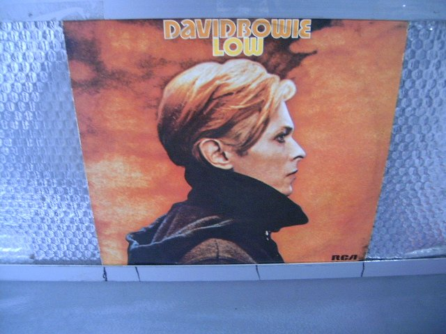 DAVID BOWIE low LP 1977 ROCK MUITO RARO VINIL