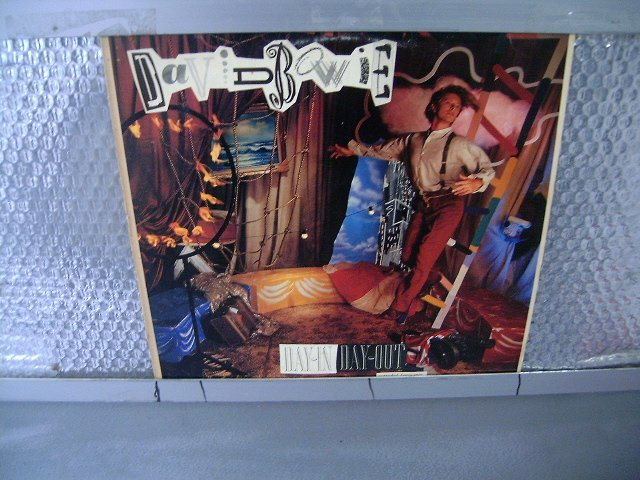 DAVID BOWIE day in day out LP 1987 ROCK**