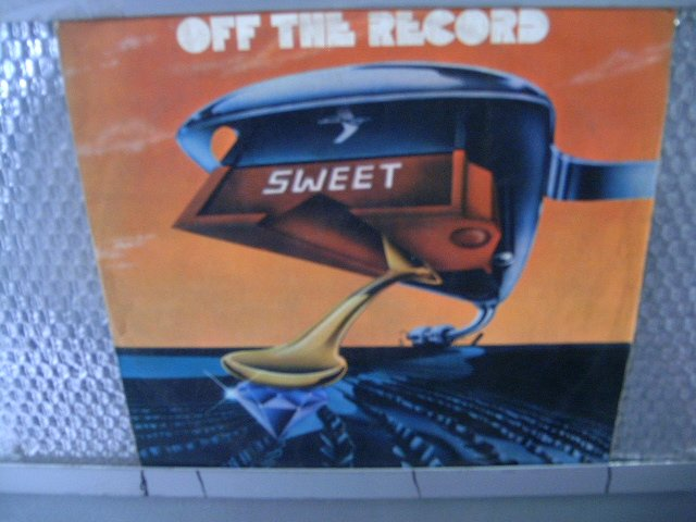 SWEET off the record LP 1977 GLAM ROCK**
