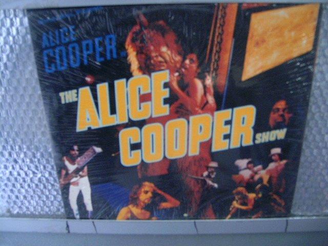 ALICE COOPER the alice cooper show LP 1977 HARD ROCK**