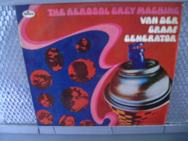 VAN DER GRAAF GENERATOR the aerosol grey machine LP 1975 PROGRESSIVE ROCK*