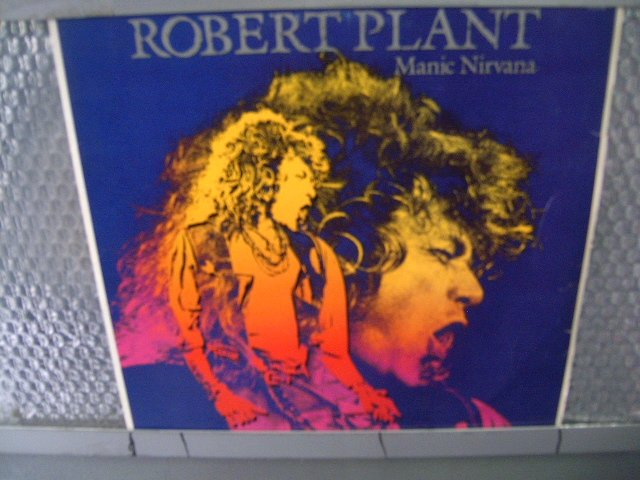 ROBERT PLANT manic nirvana LP 1990 ROCK POP MUITO RARO VINIL