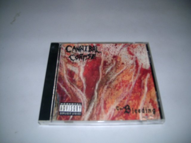 CANNIBAL CORPSE the bleeding CD 1994 DEATH METAL