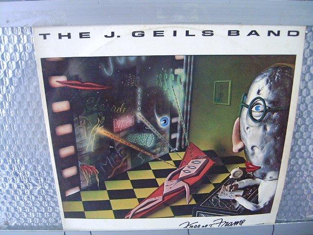 THEJ. GEILS BAND freeze - frame LP 1981 ROCK MUITO RARO VINIL