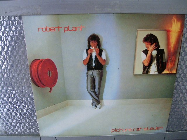ROBERT PLANT pictures at eleven LP 1982 ROCK**
