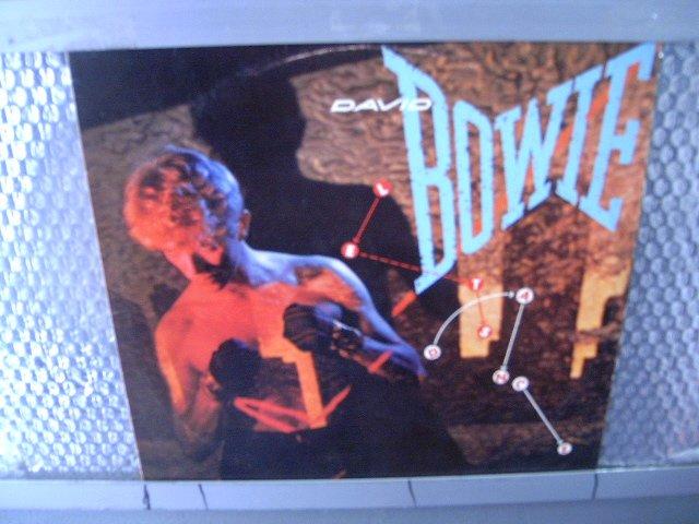 DAVID BOWIE let's dance LP 1983 POP MUITO RARO VINIL