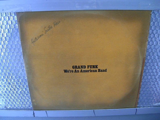GRAND FUNK we're an american band LP 1973 ROCK**