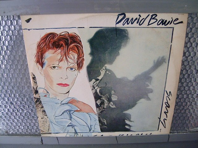 DAVID BOWIE scary monsters LP 1980  ROCK MUITO RARO VINIL