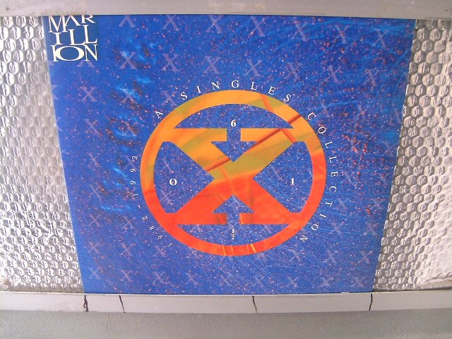 MARILLION a single collection  1982 - 1992 LP 1992 PROGRESSIVE ROCK**