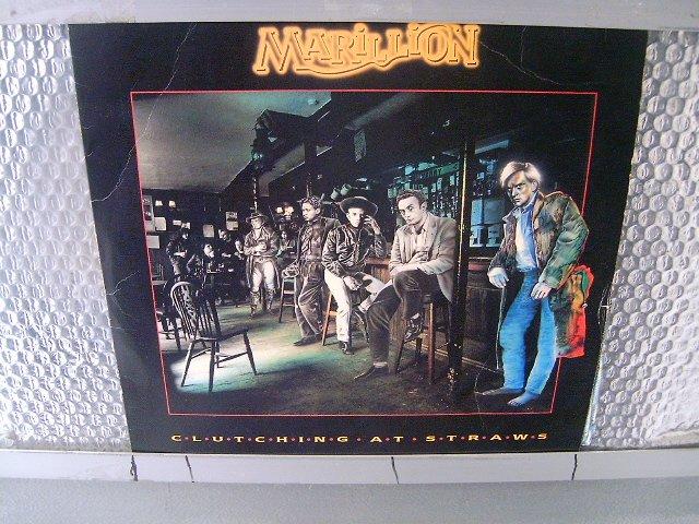MARILLION clutching at straws LP 1987 PROGRESSIVE ROCK MUITO RARO VINIL
