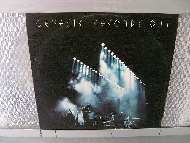 GENESIS seconds out 2LP 1977 PROGRESSIVE ROCK**