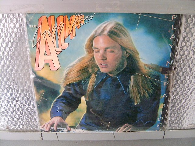 THE GREGG ALLMAN BAND playin' up a storm LP 1977 ROCK**