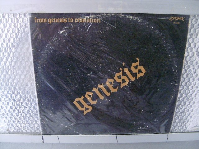 GENESIS from genesis to revelation LP 1969 PROGRESSIVE ROCK**