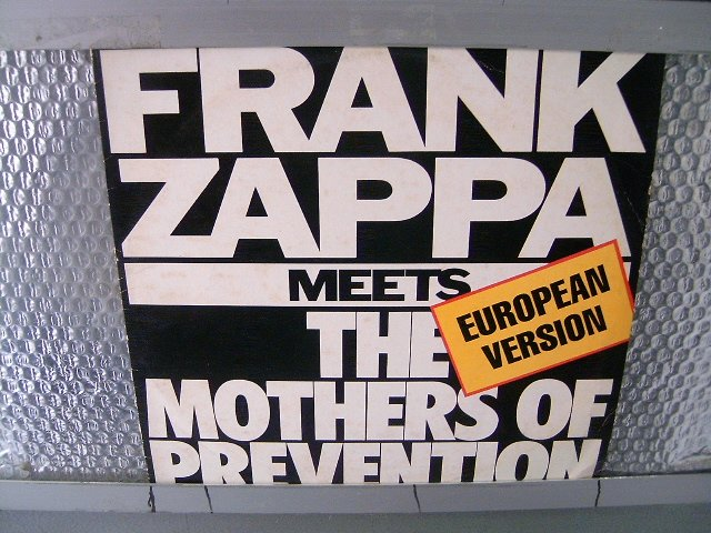 FRANK ZAPPA frank zappa meets the mothers of prevention LP 1986 ROCK