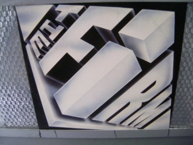 THE FIRM the firm LP 1985 ROCK**