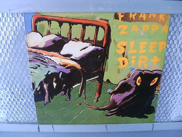 FRANK ZAPPA sleep dirt LP 1979 ROCK MUITO RARO VINIL