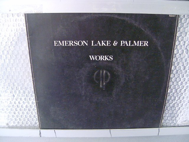 EMERSON LAKE & PALMER works 2LP 1977 ROCK MUITO RARO VINIL