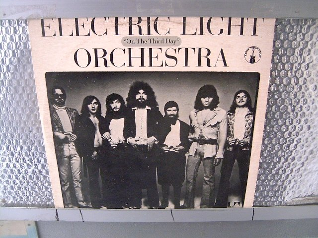 ELECTRIC LIGHT ORCHESTRA on the third day LP 1973 ROCK MUITO RARO VINIL
